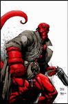 Hellboy, color.