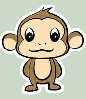 Kawaii - Monkey by xSoKawaiix