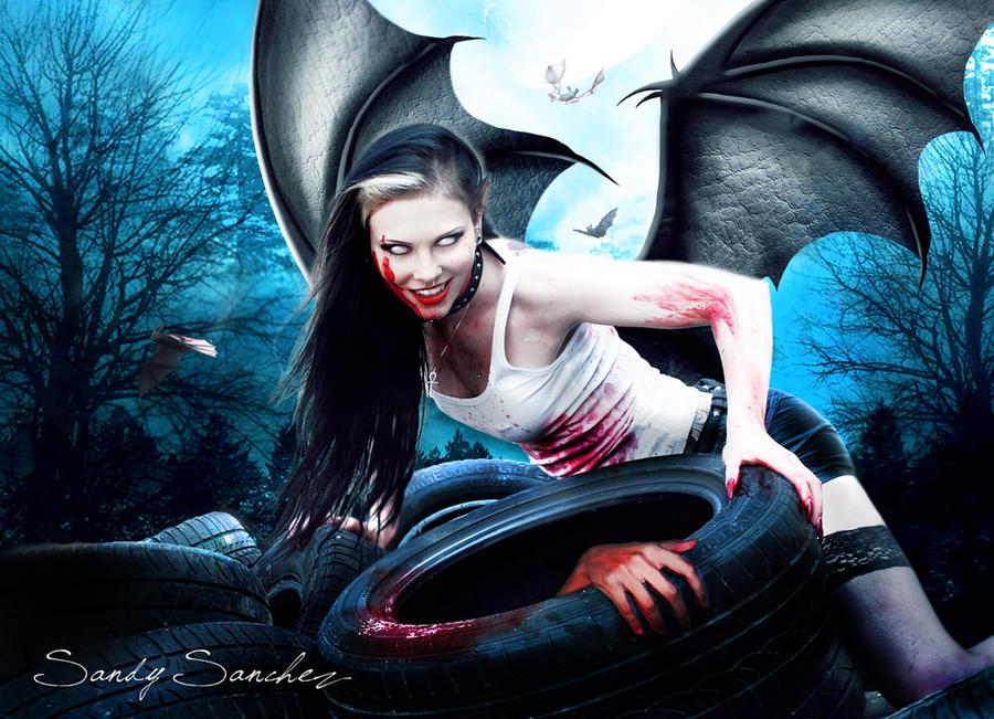 Don't Walk Alone in the Night by Eledhwen-Arts