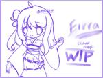 Eirra Wip by Lucky-Orange
