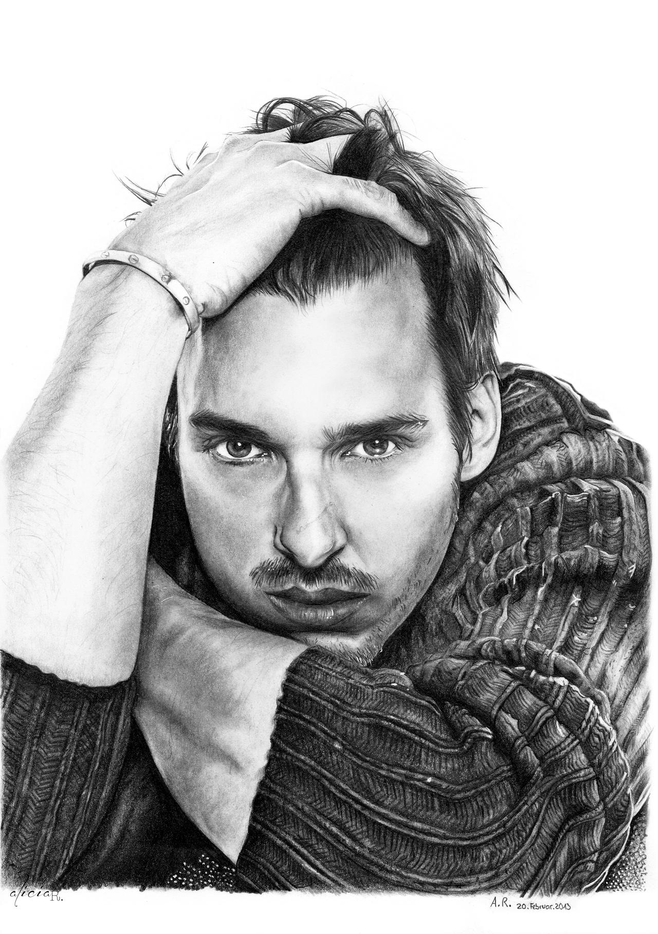 Comission - Florian David Fitz by alicia-R