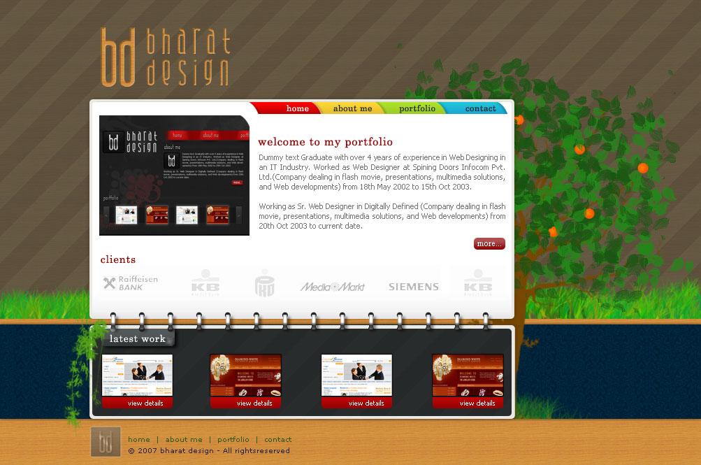 Portfolio V3 by WebRules