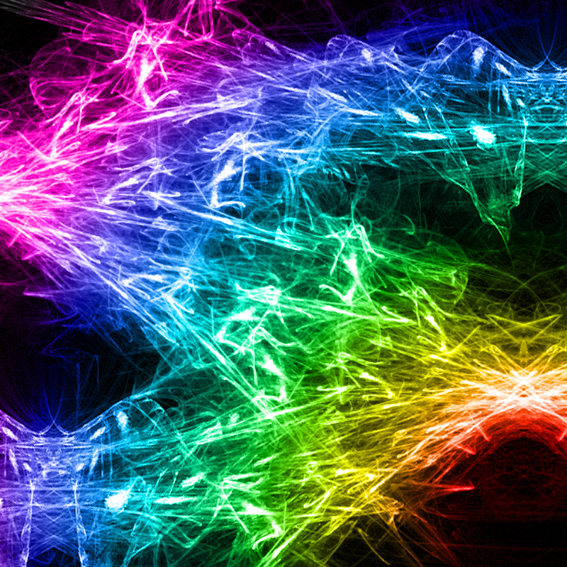 rainbow fire background - photo #1