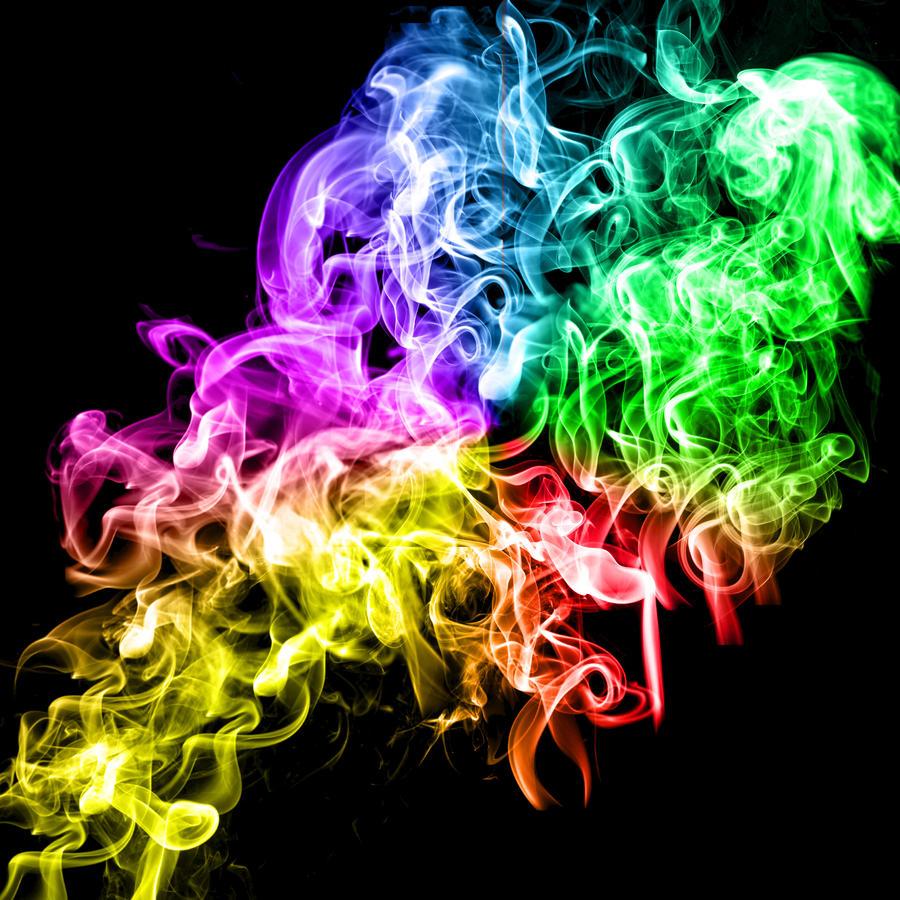 rainbow smoke by Stewart-Pressney on DeviantArt