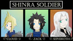FF VII-The Shinra SOLDIER unit