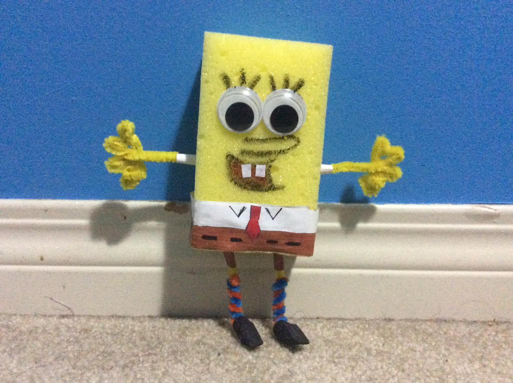 Custom SpongeBob by Trulycoolarts975