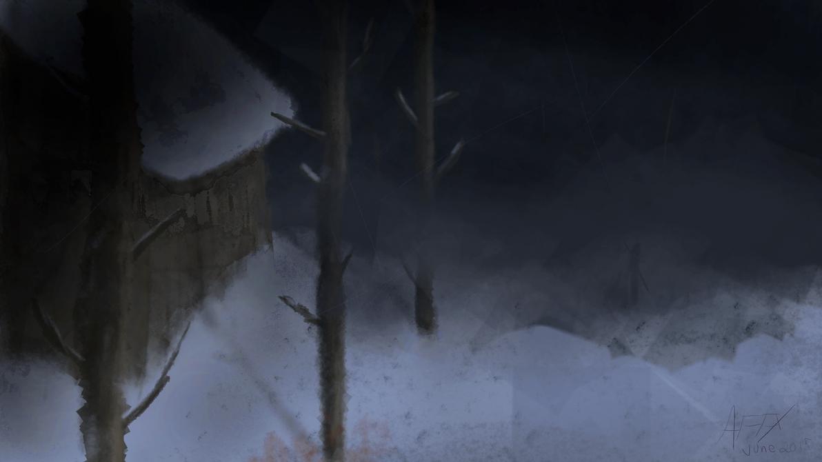 Winter Lodge by arakash92