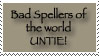 Bad Speller UNTIE by HefruMaru