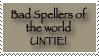 Bad Speller UNTIE by HefruMaru