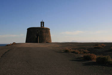 Lanzarote 3 - lonely church