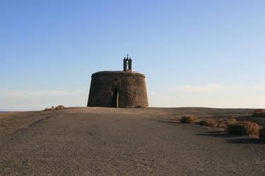 Lanzarote 3 - lonely church 2