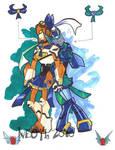 Sailor Jetfire and Jetstorm