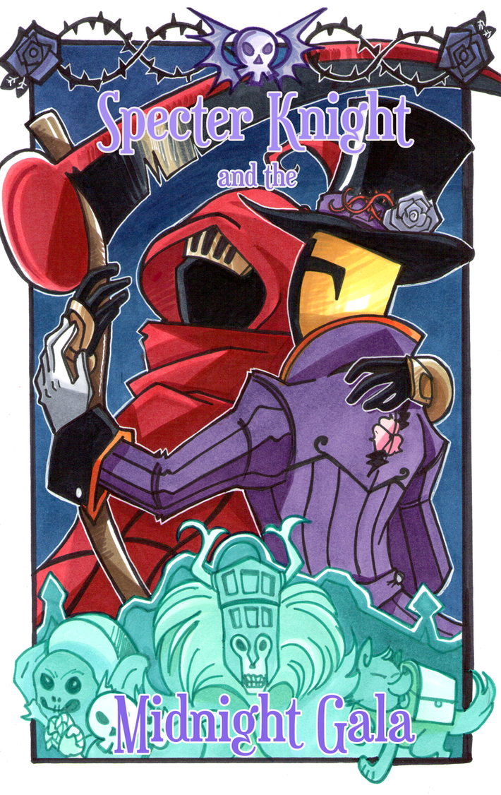 Specter Knight and the Midnight Gala by neoyi