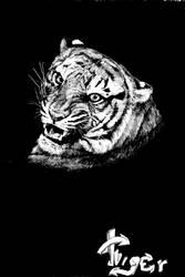 tigra. by Koshka-tanya