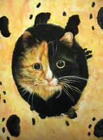 cat by Koshka-tanya