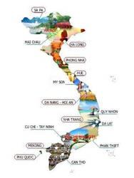 2- Map du lch VN
