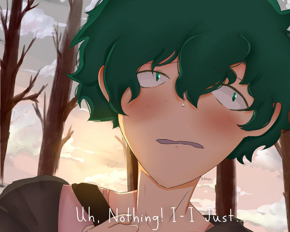 Deku (panel 2) by ArkAngie