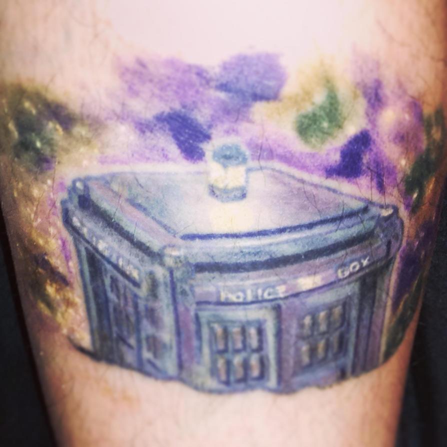 Tardis Tattoo: Doctor Who by Zekira