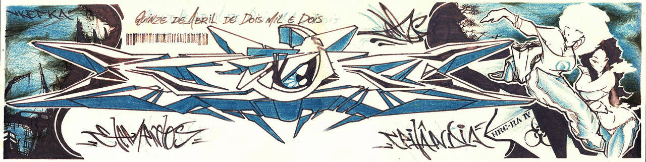 Sketch Graffiti by Wagnr