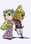 Zelda and Tetra