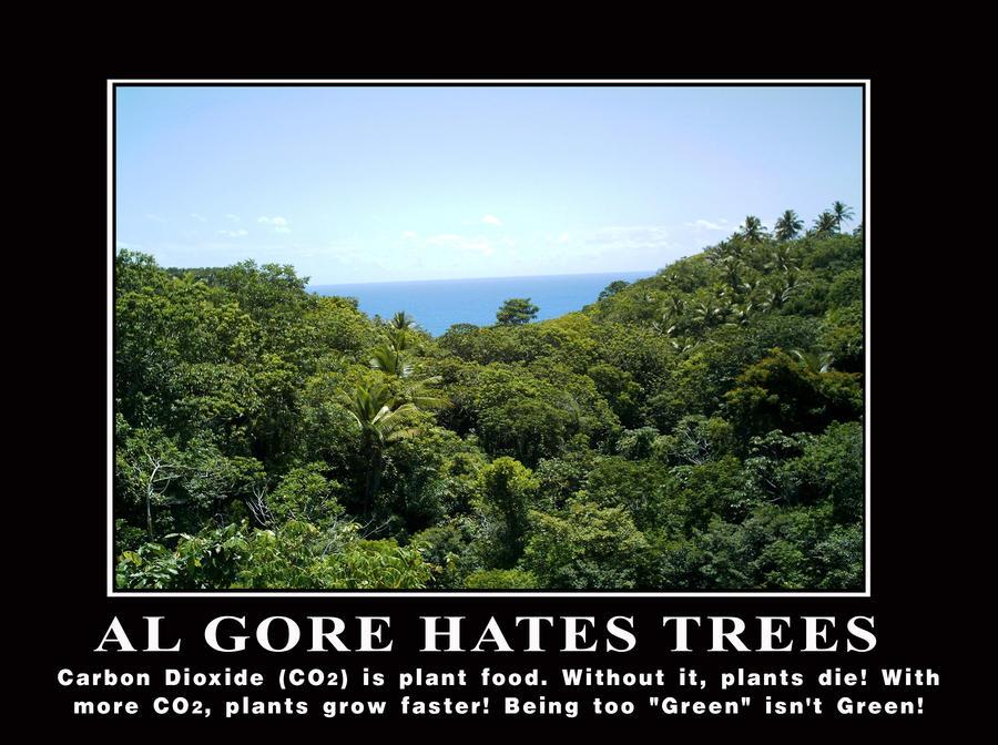 Al Gore Hates Trees by Elvis-Chupacabra