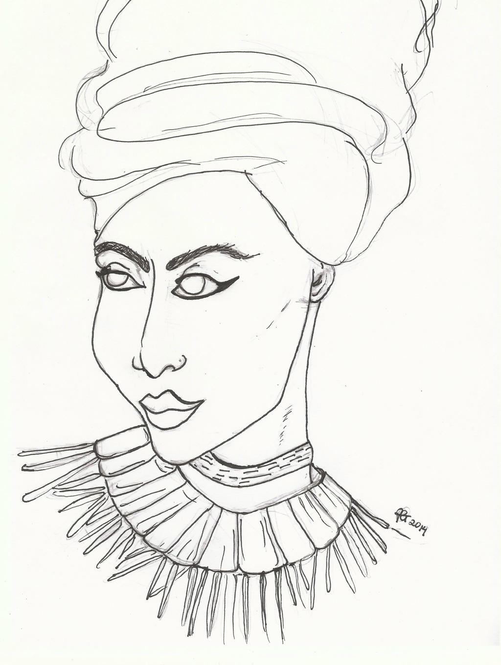 Line Art Queen : Numythology patricia grannum deviantart