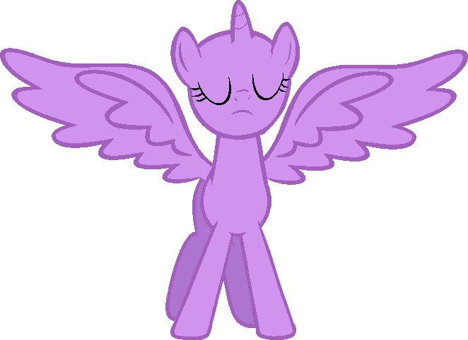 Mlp Alicorn Base: My Little Pony Alicorn Base