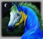 Macaw Horse WIP