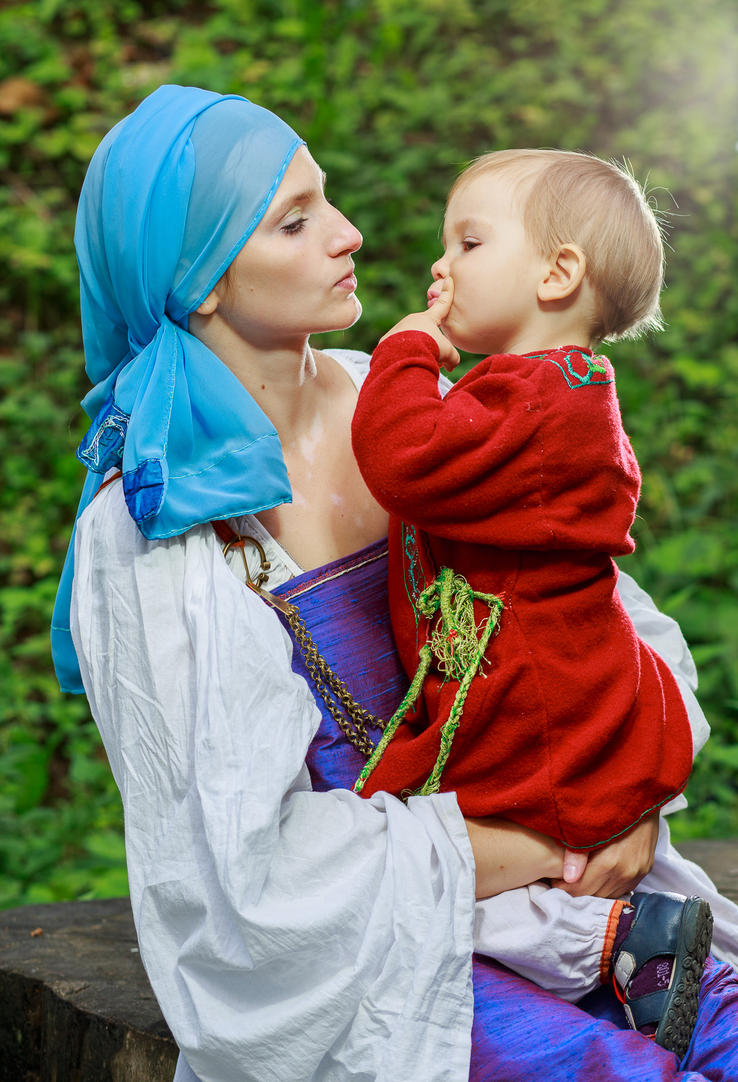 kiss me here by Antalika