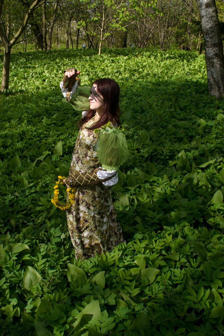 spring fairy by Antalika