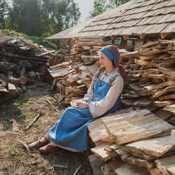 Viking wife
