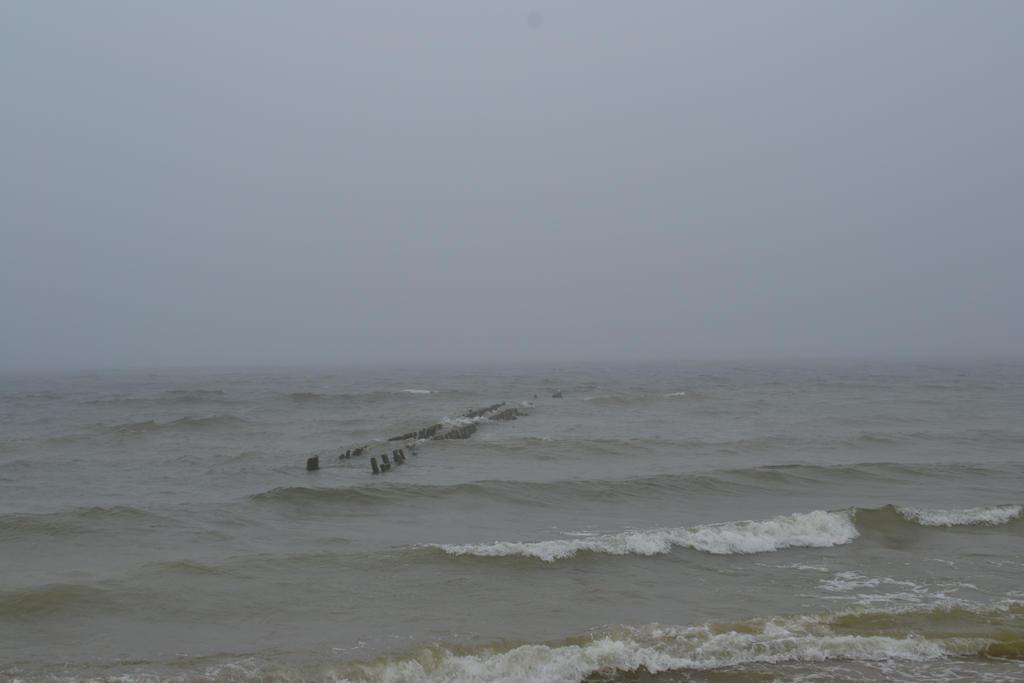Fog and the sea by Antalika