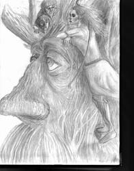 Treebeard picks up a hitchhiker
