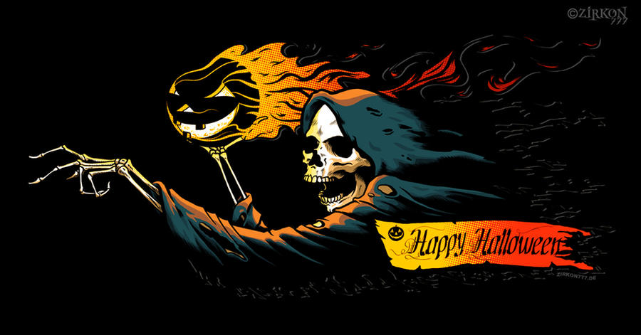 halloween reaper by Zirkon777