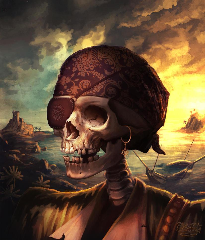 Skull pirate by Zirkon777