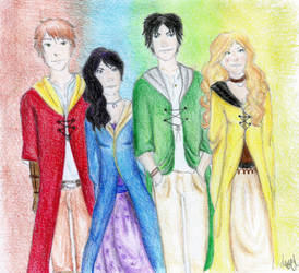 The Hogwarts Founders by LedyPotter97
