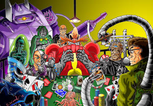 Mad Scientists Play Poker