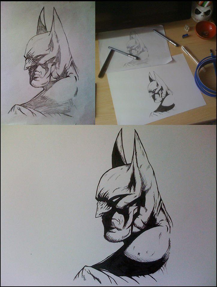 Batman by Bearded-Manatee
