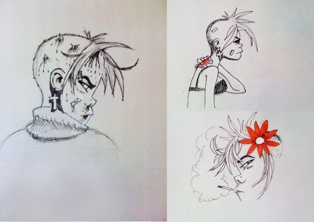 Punk Girl by Bearded-Manatee