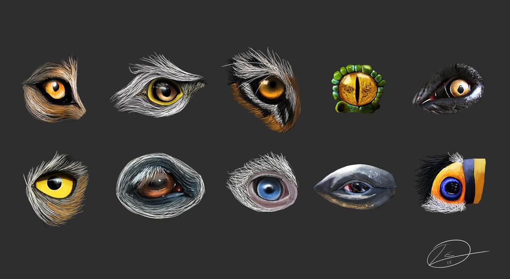 Eye Study #1 by Bearded-Manatee