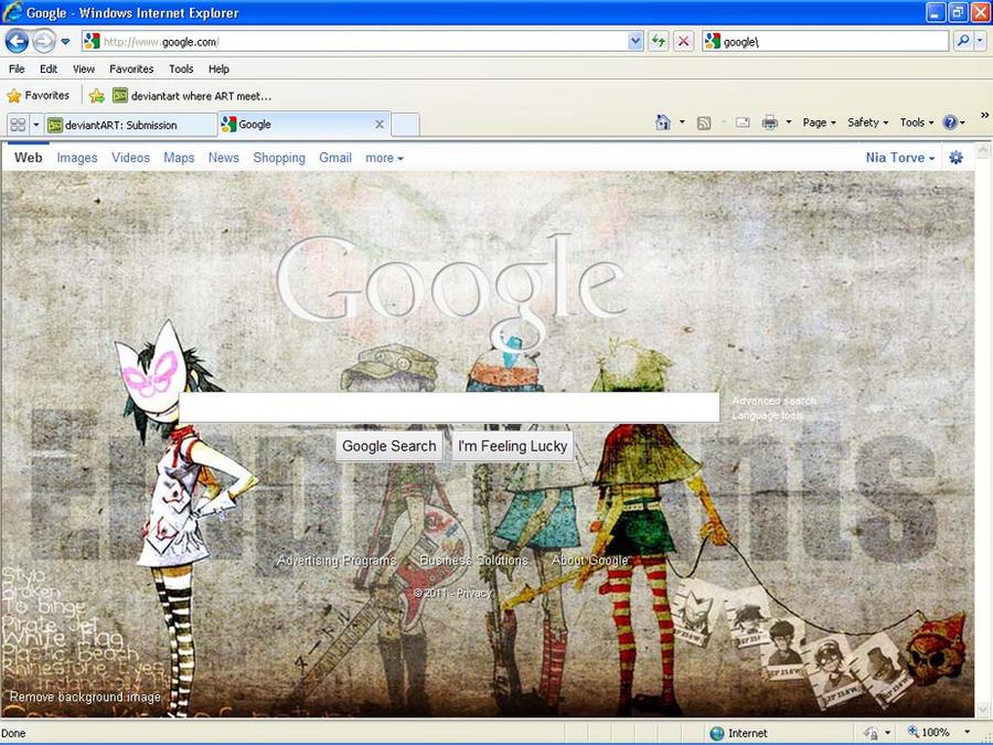 My Google BG by kururugirl1 on DeviantArt