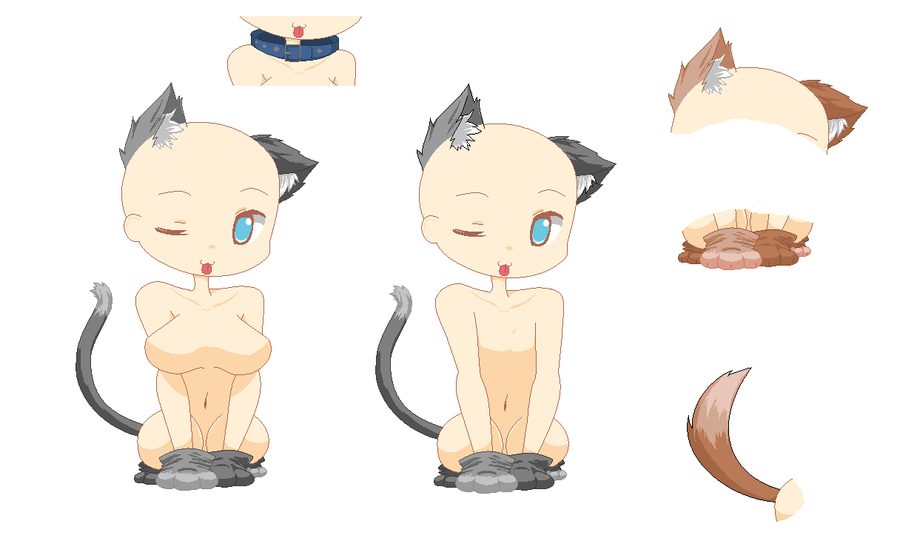 neko base by OperaHouseGhost on DeviantArtAnime Chibi Neko Base