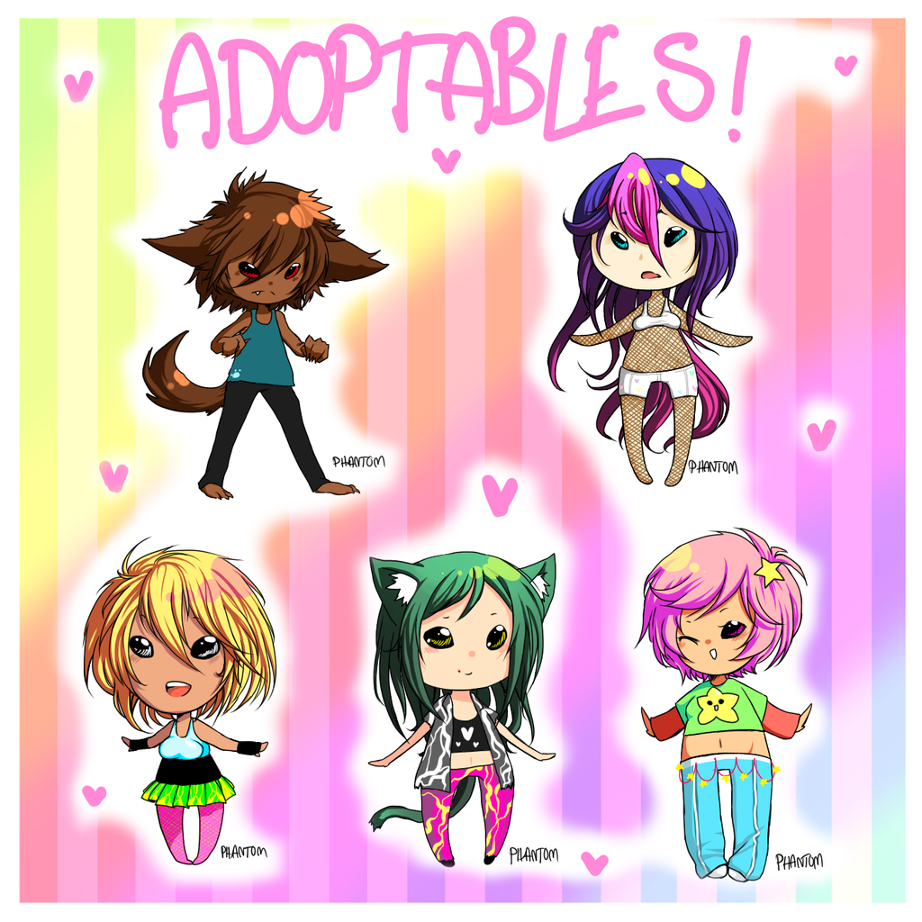 adoptables! .:MOVED:. by 666phantomoftheopera
