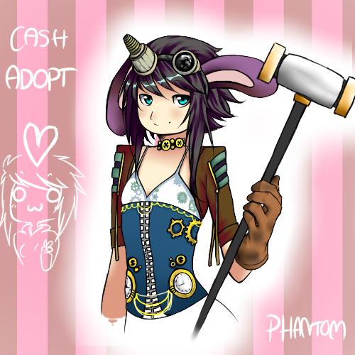 Steampunk Cash Adopt .:OPEN:. by 666phantomoftheopera