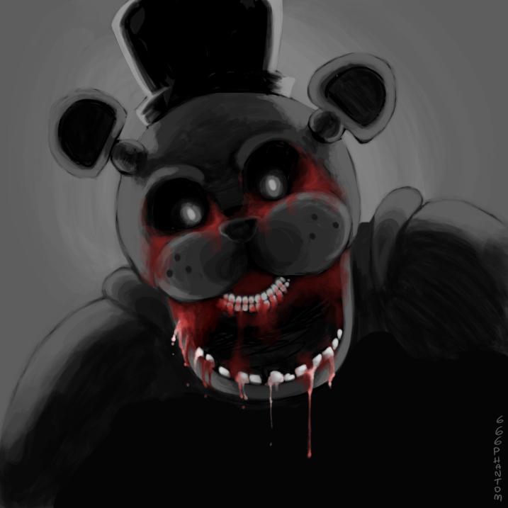 Fnaf bloody freddy by 666phantomoftheopera on deviantart