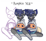 Pumpkin YCH Auction [closed]