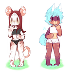 Rat and Doggo Furry OTA Adopts [HOLD]