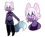 Purple Babe Anthro Adopt Auction [SOLD]