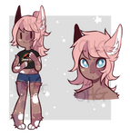 Doe Eyes - Anthro Adopt Auction [SOLD]