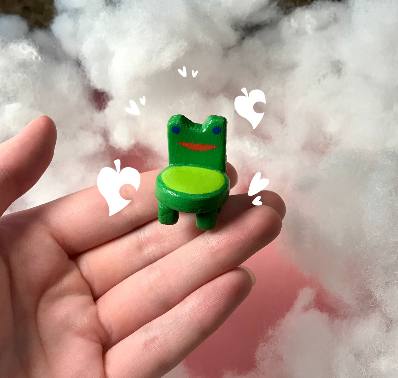 Froggy Chair Clay Figure By Crumpitcroc On Deviantart